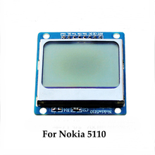 1 Pcs High Quality For Nokia 5110 LCD Display Screen LCD5110 Monitor for Arduino Blue Mobile Cell Phone