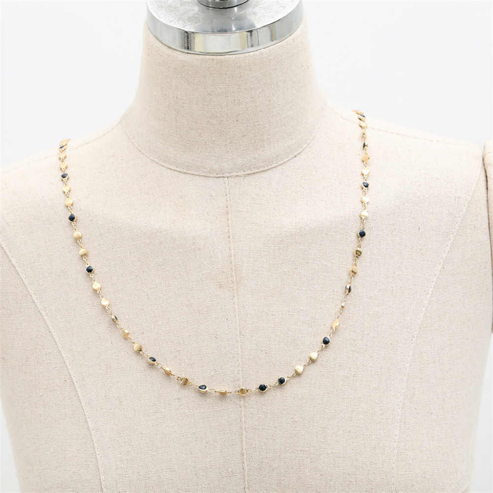 Precious Jewelry Necklace European and American Choker Temperament Ladies Necklace Basic Classic Drop Necklaces Delicate Trinket