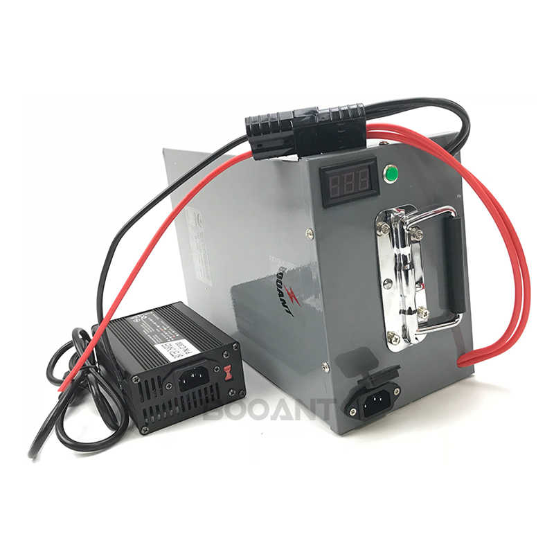 2pcs 48V 60ah 2000w electric bike battery +a metal box 13S 48v scooter lithium battery for Samsung 30B 18650 cell +5A Charger