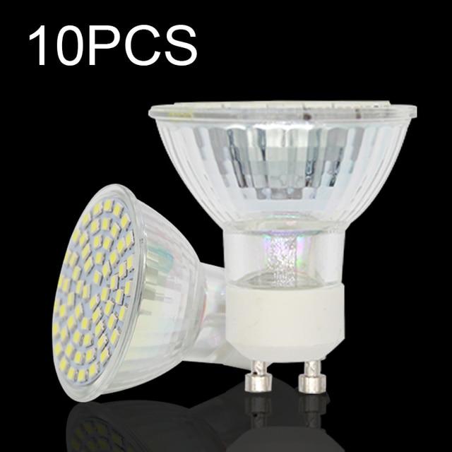 10 stukspartij hittebestendige glas lampada de lamp gloeilampen 220 v e27 mr16