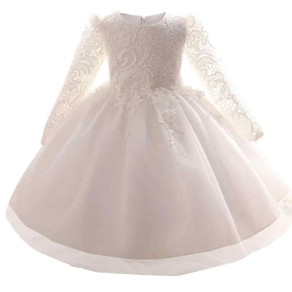 643adad17a Detail Feedback Questions about Lace Princess Girl Christening Dress ...