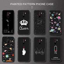 Crown Phone Case For Xiaomi mi 8 A2 Lite 6 F1 Redmi 5 Plus Note 6 5 Pro S2 4X 6A 5A Letter Back Cover Love Heart Soft TPU Cases(China)