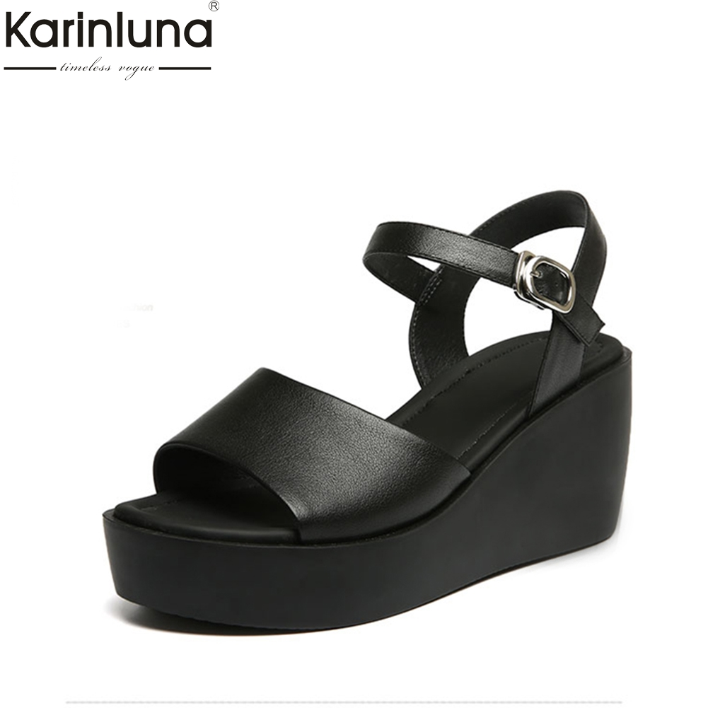 Karinluna Chic Style 2019 Brand New women s Shoes Elegant Mature Office Lady Classics women s