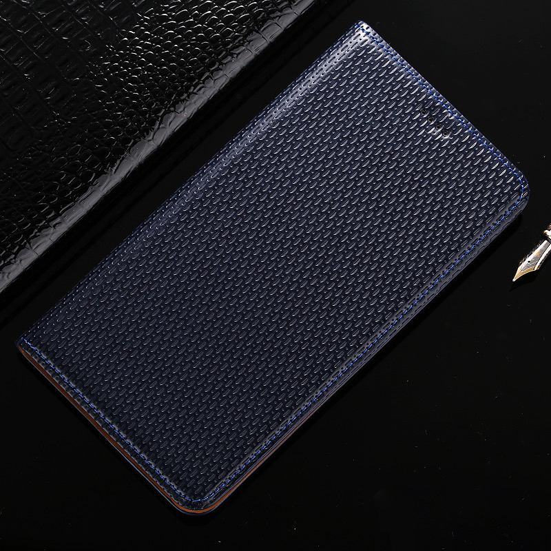 Top Genuine Leather Magnetic Case For Asus Zenfone Max Pro M1 ZB601KL ZB602KL Retro Luxury Stand Flip Mobile Phone Cover