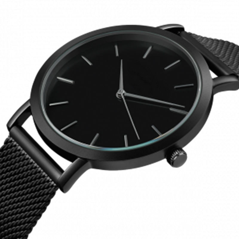 FUNIQUE 2018 New Fashion Dress Wrist Clock Watch For Women Black Silver/Rose Gold Color Stainless Steel Mesh Strap Quartz Watch цена и фото