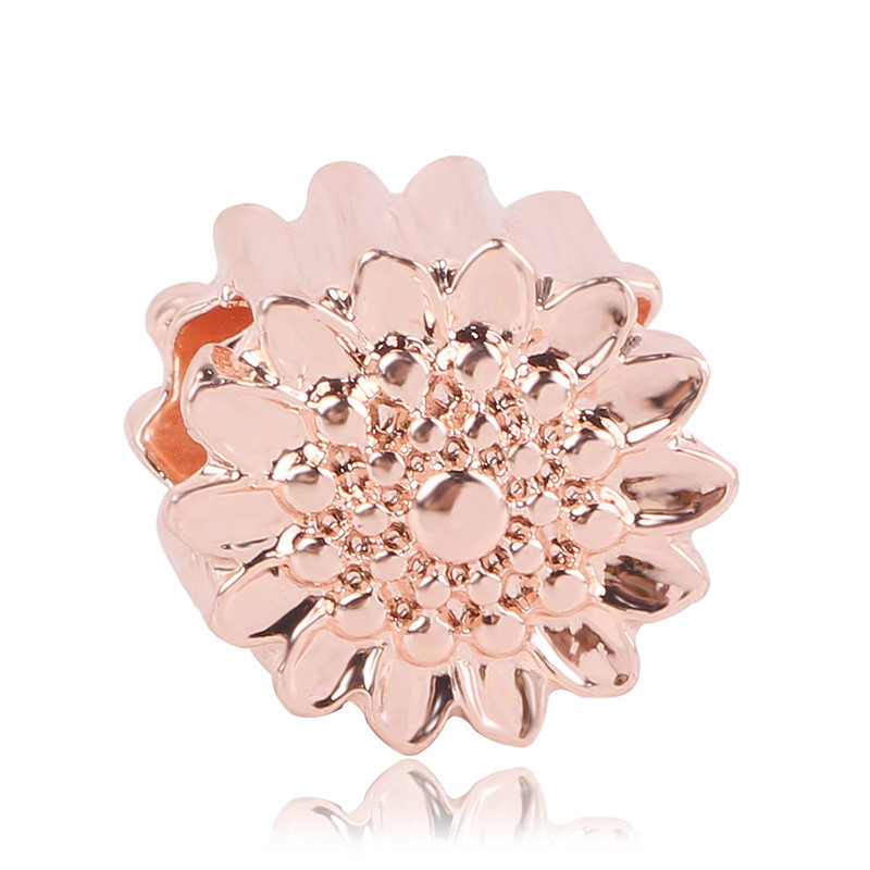 Fit Pandora Charm Bracelet Women Gift Jewelry 2019 New 1pc European Rose Gold Love Tree Present Flower Crown Clip Bead in Beads from Jewelry Accessories