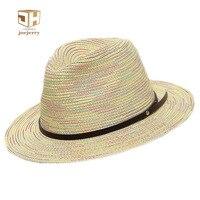 Fashion Women Sun Hat Ladies Wide Brim Straw Hats Design Summer Beach Panama Hats Church Hat