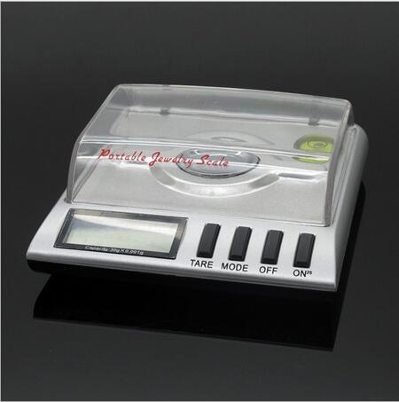 50g/0.001g milligramme Balance électronique numérique échelle bijoux laboratoire Grain gemme Carat poche poids échelle haute précision - 3