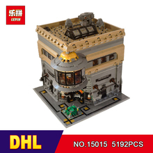 DHL LEPIN 15015 5003pcs City Creator The dinosaur museum MOC Model Building Kits Brick Toy Compatible Christmas gifts