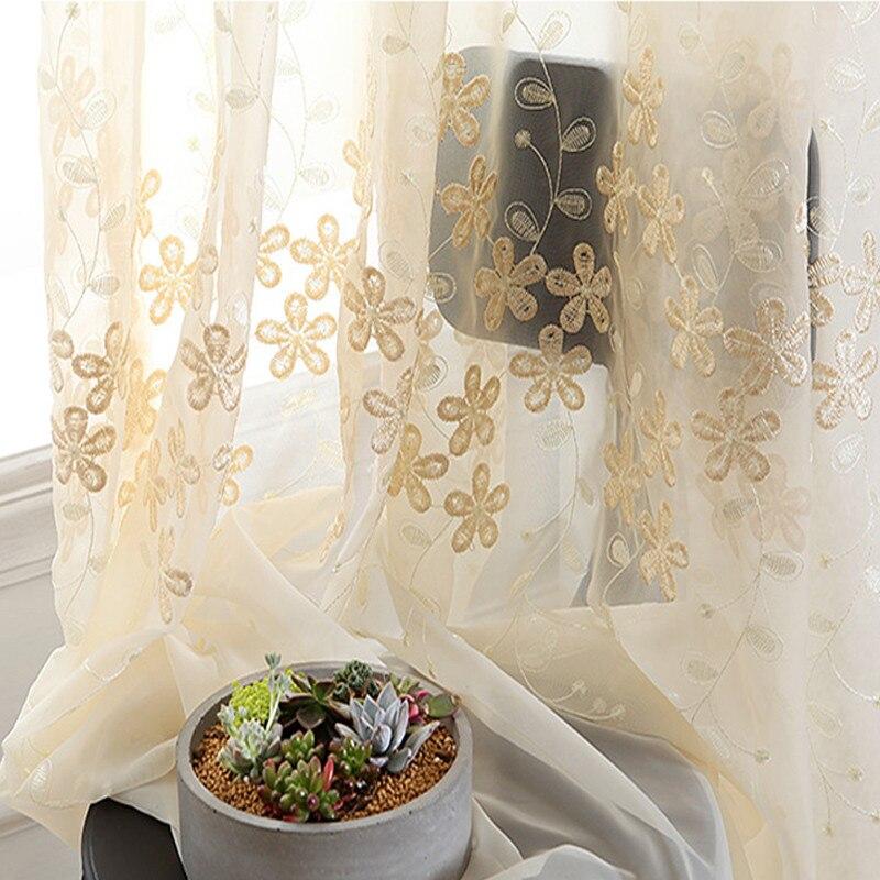 6e0fae2c2d Navidad ventana cortinas de tul para sala de estar de lujo bordado cortinas  hogar tende cortinas cocina cortinas decoración - a.spelacasino.me