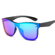 WANMEI.DS 2018 New Transparent Sunglasses Women Vintage Colorful Retro Fashion