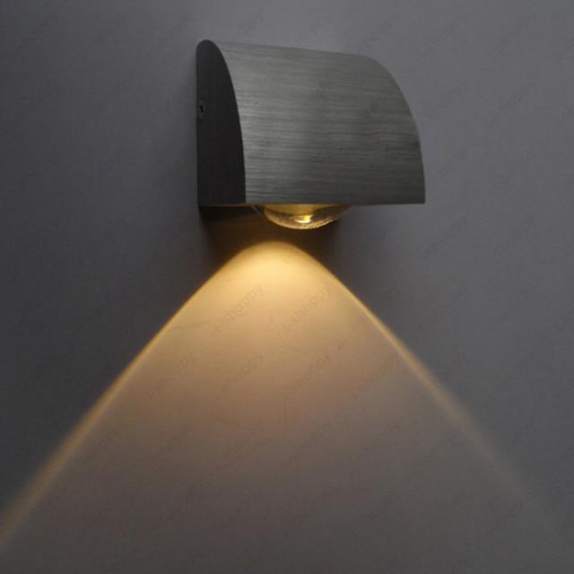 Wall Night Lamps For Bedroom : Aliexpress.com : Buy Indoor 3W LED Wall Fixture Light Night Lamp Vestibule Bedroom Canteen Disco ...
