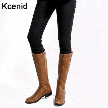 82ad01ba0d9d3a Plus Size 34-43 moda quente botas de inverno dedo do pé