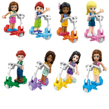 Fairy tale princess girl vicious building Olivia Stephanie Mia block model friend child toy compatible friendship jm34