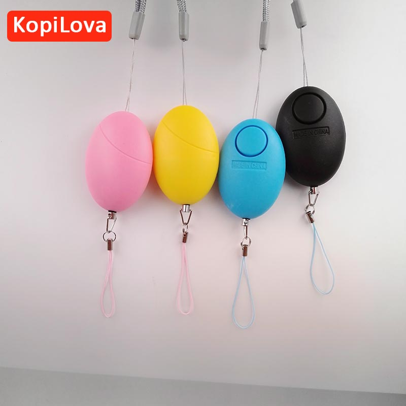 imágenes para KopiLova 10 unids Defensa Personal Alarma Personal alarma Contra robo 120dB Ataque de Protección de Seguridad de Alarma De Seguridad para la Mujer Anciana Niños