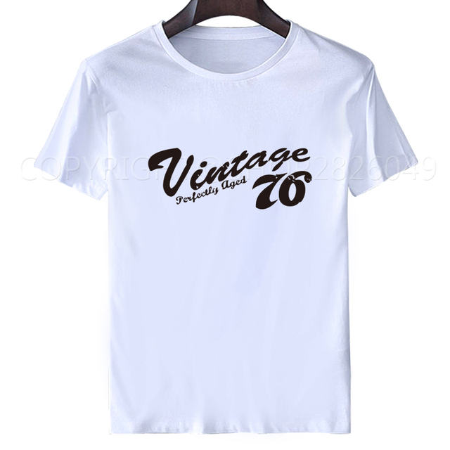T Shirt Ideas Short Sleeve Fashion 2017 Crew Neck Mens 40th Birthday Gift Vintage 1976 Distressed