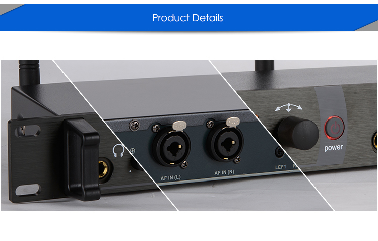 For Wholesaler! SR2050 Wireless in ear monitor system, sr 2050 iem Personal in-ear stage Monitoring 2 Transmitter 2 Receivers