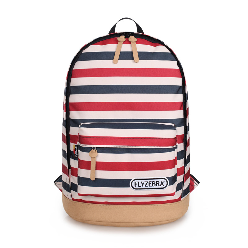 ФОТО 2016 Brand Quality Striped Canvas Bag Backpack Schoolbag For Youth Girl Laptop Computer Bag Backpack For Women Female Back Pack