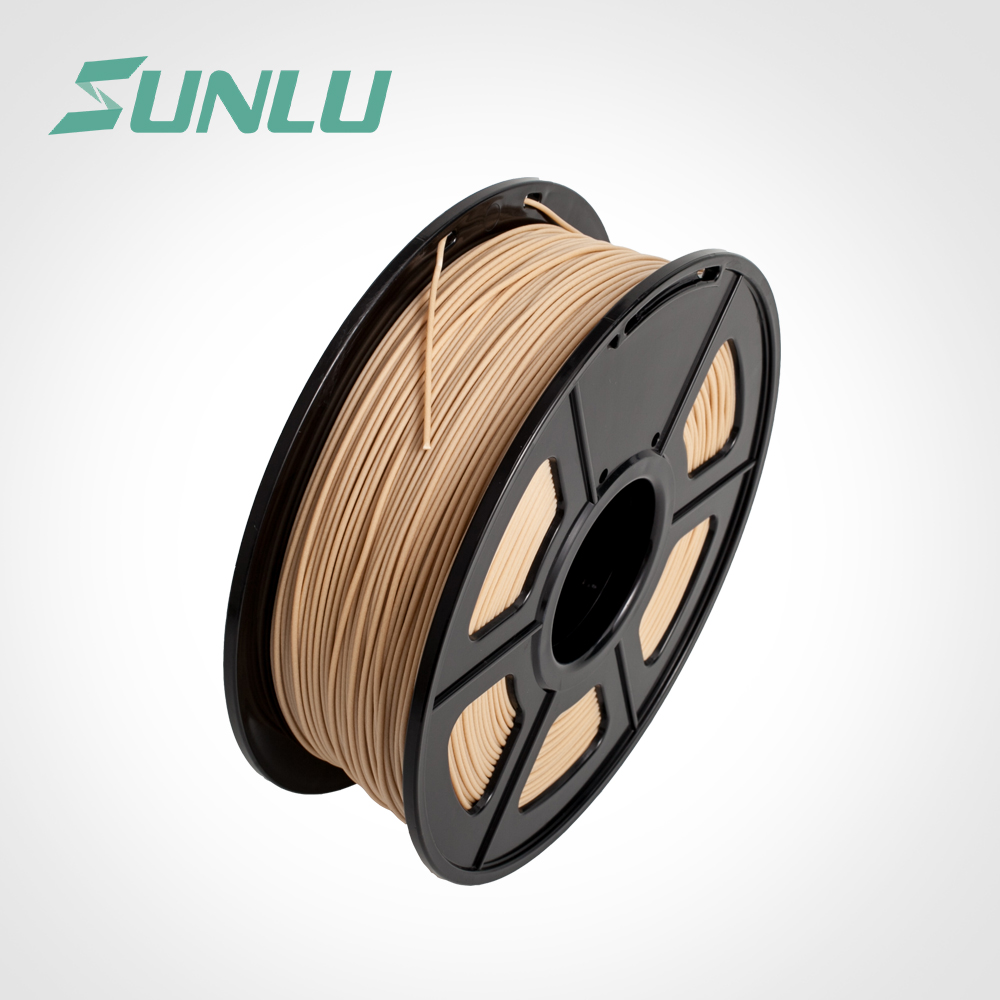 wood 3d printer filament new free ship Hot selling 1 75mm wood recycled plastic rod with