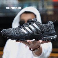2018 Sneakers men super Brands mesh tenis feminino casual men shoes Air damping onemix zapatos de mujer Breathe light size 36 46