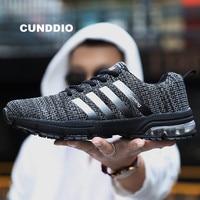 2018 Sneakers men super Brands mesh tenis feminino casual men shoes Air damping onemix zapatos de mujer Breathe light size 36 46
