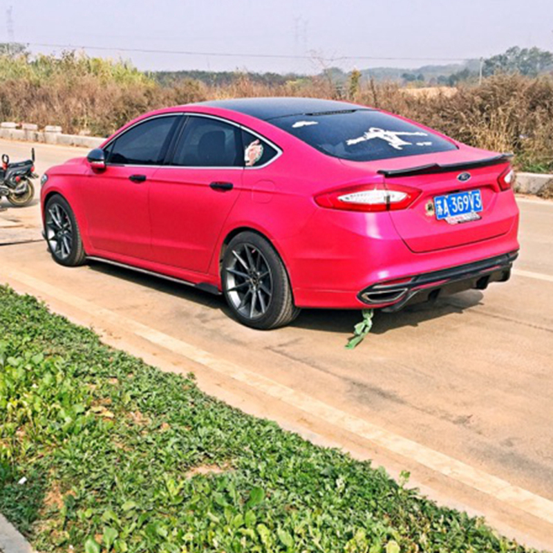 For Ford Mondeo/Fusion Auto Accessories New Model 2013 2014 2015 2016 2017 High Quality Carbon Fiber Rear Wing Spoiler цена