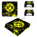 Borussia Dortmund BVB 1909 Sticker for Playstation 4 PS4 Slim Console Skin Sticker Controller Protector Decals