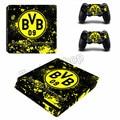 Borussia Dortmund BVB 1909 Sticker for Playstation 4 PS4 Slim Console Skin Sticker Controller Protector Decals