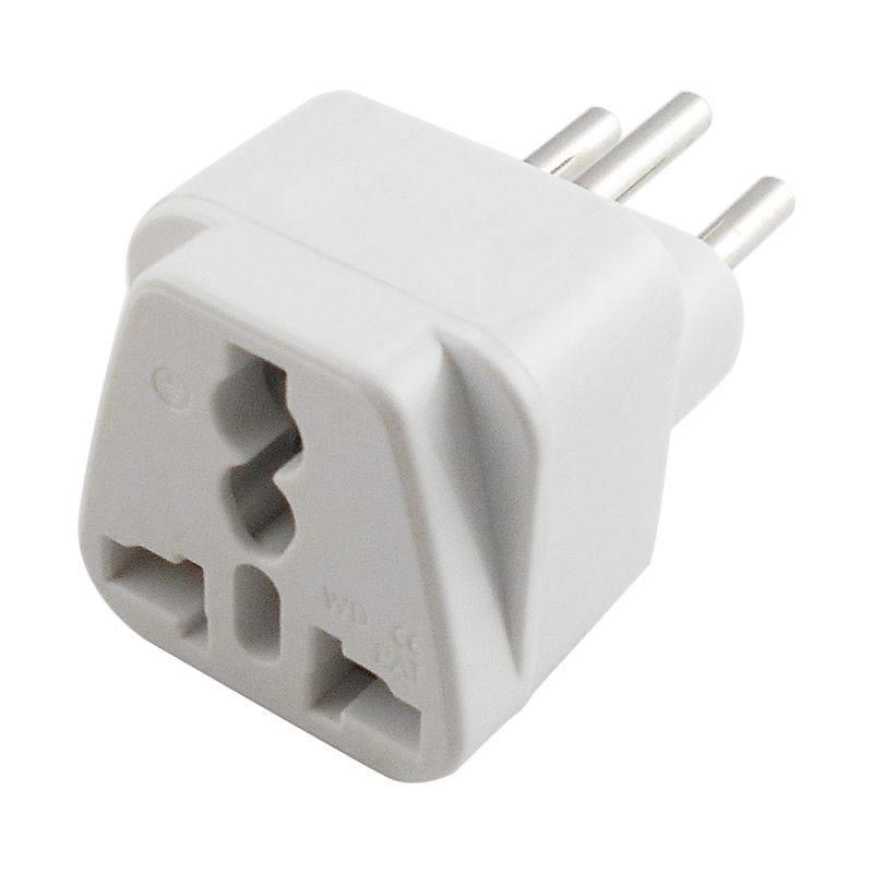 White Double UK PLUGS Mains /& USB to EURO PLUG 2 pin Travel Adapter CONVERTER