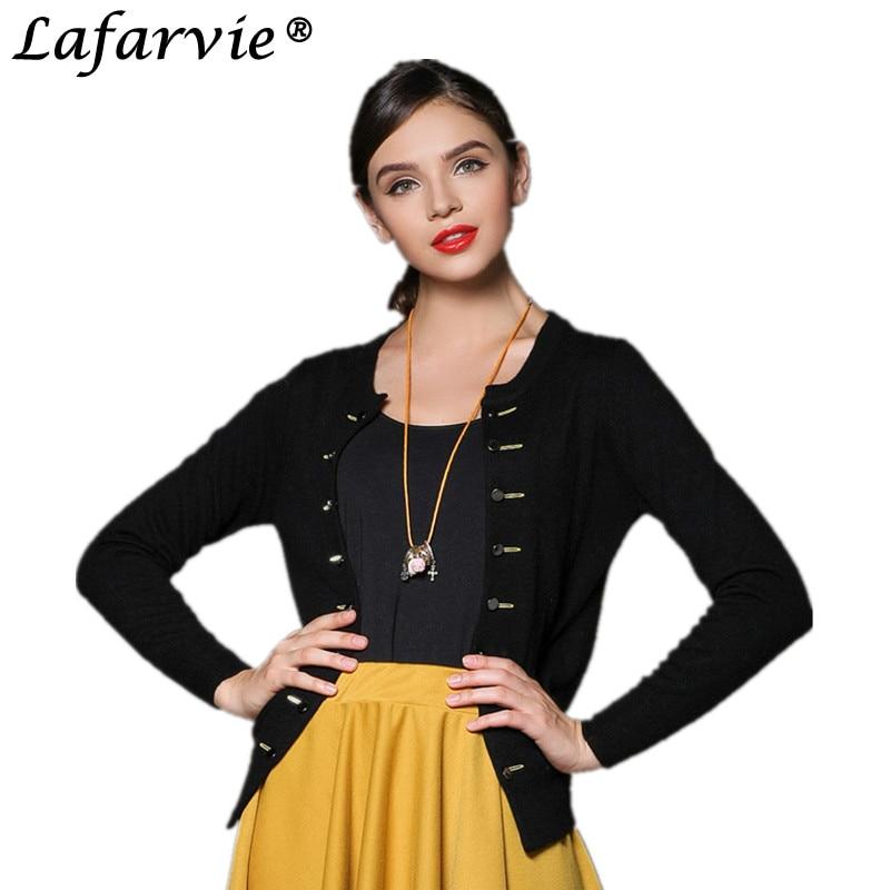 Lafarvie kaschmir blended strick pullover frauen tops weibliche  strickjacken mode outwear zweireiher verkauf mit 7 farben jumper in  Lafarvie kaschmir ... 5c72438f20