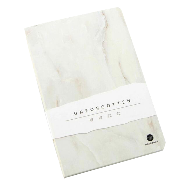 creative notebook 12.5*18.5cm 80 pages blank sheets office school journal sketchbook gift(White jade) sosw fashion anime theme death note cosplay notebook new school large writing journal 20 5cm 14 5cm