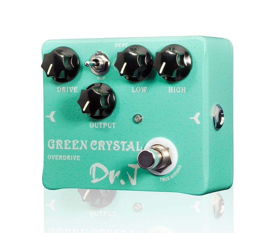 Joyo Green Crystal Overdrive Electric Guitar Effect Pedal Aluminum Alloy Housing True Bypass Dr.J D-50 асмус дж гамбит король воров том 3