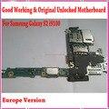 Europa versão i9100 desbloqueado motherboard motherboard com chips originais para samsung galaxy s2 i9100, bom Trabalho