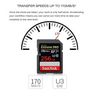 Image 5 - SanDisk carte SD Extreme Pro, SDXC 64 go 128 go 256 go, SDHC 32 go, classe 10, jusquà 95 mo/s, pour appareil photo SLR