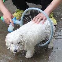 Pet bathing tools dog shower sprayer automatic 360 degree dog cleaning pet supplies dropshipping pet handheld washing brush