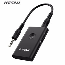 Mpow Bluetooth Receiver Transmitter Wireless Car Audio System Adapter Portable 3.5mm APXT Receiver For Car/TV/Headphone/Speaker