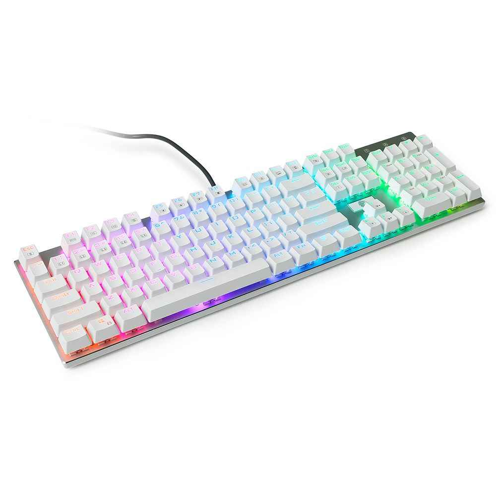 81/87/104 schlüssel Mechanische Tastatur Rot Braun Schwarz Blau Schalter Wired Gaming Tastatur LED RGB Backlit Anti-Geisterbilder für PC Gamer