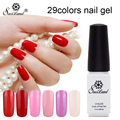 Saviland 7ml Semi Permanent Nail Polish 29 Colorful Soak-off Gel Nail Lacquer Professional UV&LED Nail Gel Varnish