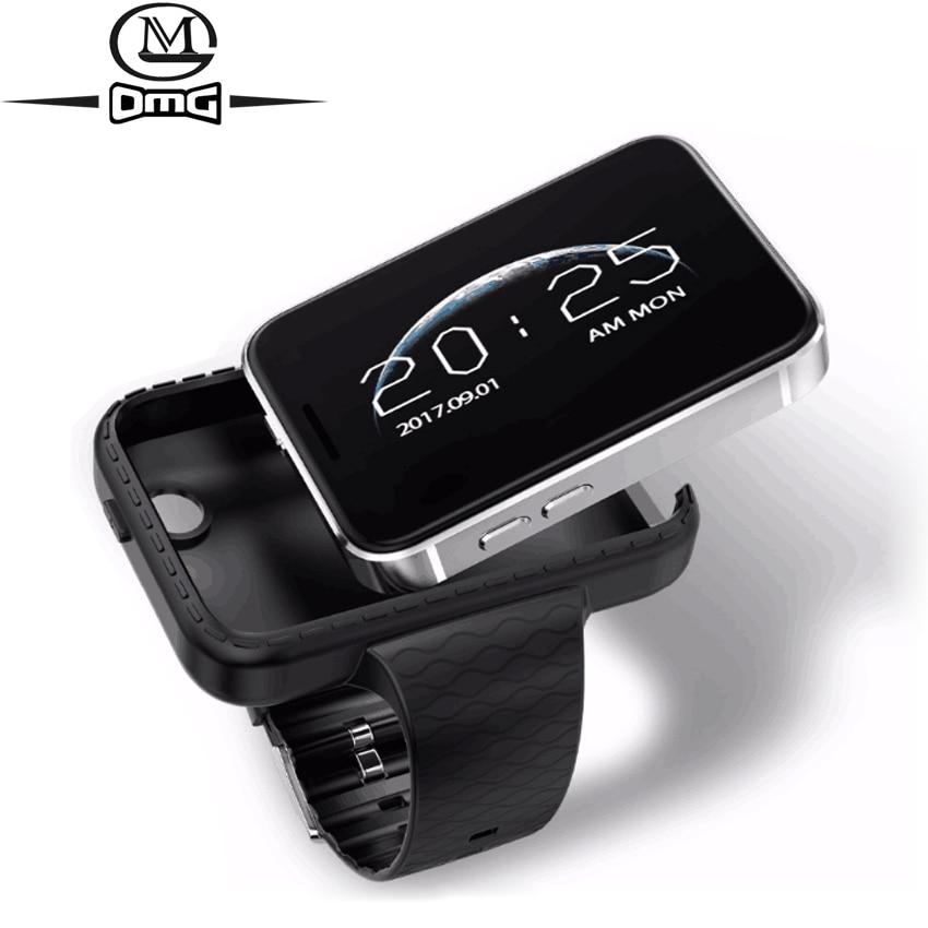 Super Mini Watch cell Phone AEKU i5S 2 2 Screen sport pedometer phones 450mAh Bluetooth MP4