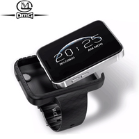 "cell phone screen Super Mini Watch cell Phone AEKU i5S 2.2"" Screen sport pedometer phones 450mAh Bluetooth MP4 MP3 Small Mobile Phone (1)"
