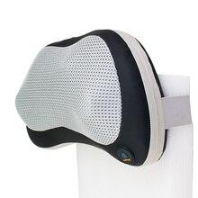 Health Care Home Car Dual- Use Neck Head Pillow Lumbar Shiatsu Cushion Massagers