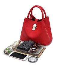 2018 Vintage Women's Handbags Famous Fashion Brand Candy Shoulder Bags Ladies Totes Simple Trapeze Women Messenger Bag