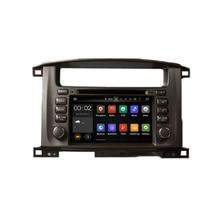 Runningnav Octa Core Android 6.0 Fit TOYOTA LAND CRUISER 100 / LC 100 1998-2007 Car DVD Player Navigation GPS Radio