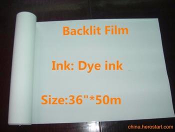 36 #8222 * 50 m wysokiej jakości drukarek atramentowych biały folia pet do podświetlany zwierzęta domowe są do drukarek atramentowych tanie i dobre opinie Papier fotograficzny Glossy Single side print colormaker Dye printer 50m per roll Carton package Super white backlit print film