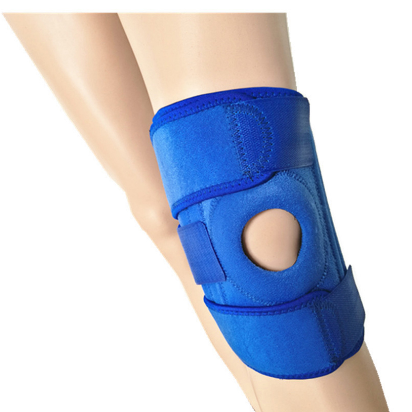 1 Pcs Breathable Adjustable Kneecap Patella Brace Protective Cycling Knee Pads Tennis Basketball Fitness Keen Guard Support