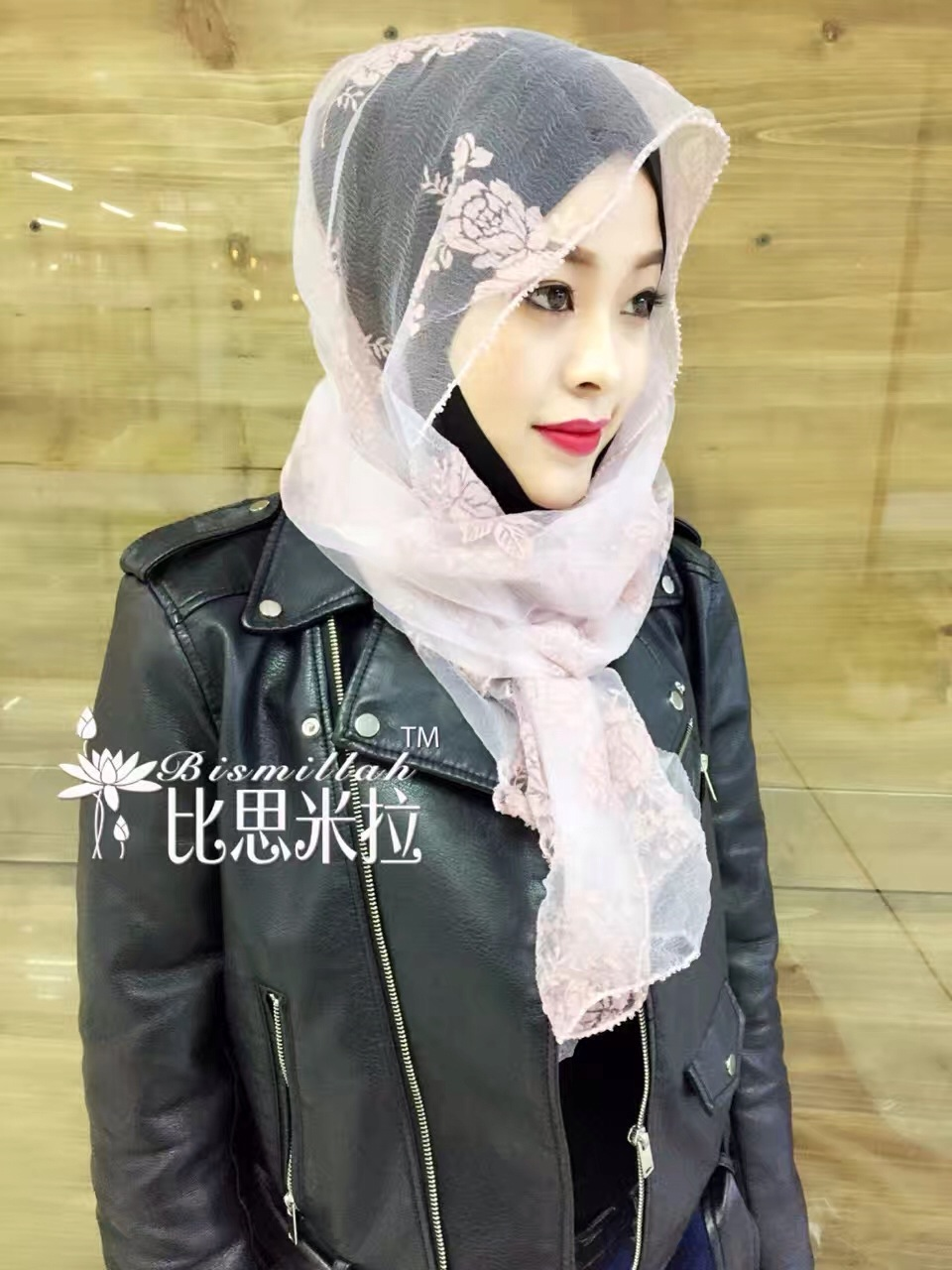 Leather jacket hijab -  12 Pieces Lot 2017 New Design Organza Summer Muslim Hijab Scarves Flower Printed Long Shawls Tc442 In Scarves From Women S Clothing Accessories On