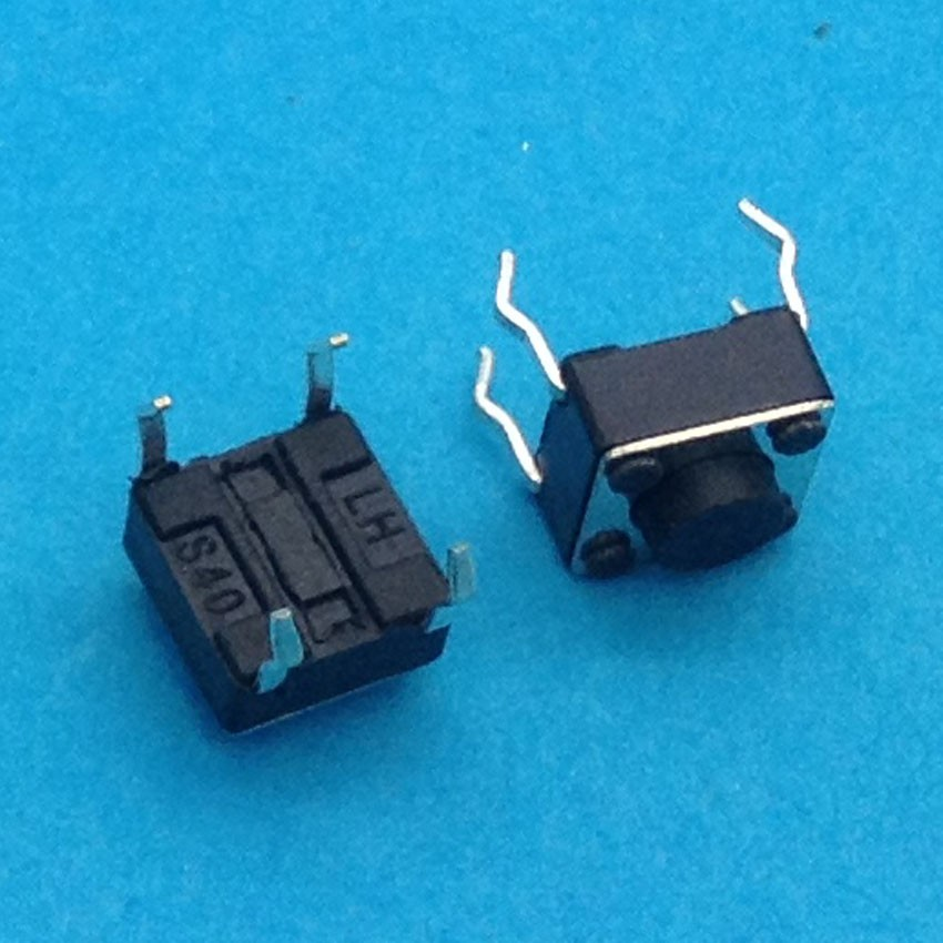 10PCS TC-1212T 6x6x4.3 mm Tact Tactile Push Button Momentary SMD PCB Switch стоимость
