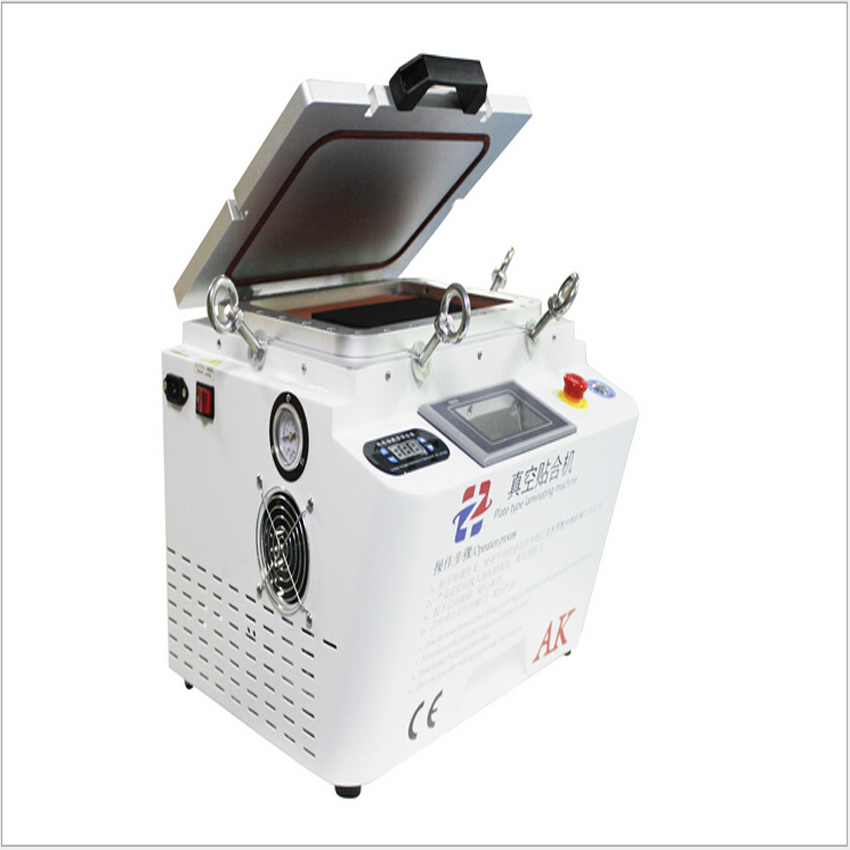AK12 inch screen machines vacuum press machine laminating machine bubble machine OCA adhesive screen separator