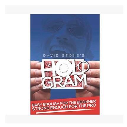 2016 la última tarjeta Magic accesorios etiqueta ilusión holograma rojo ( DVD y truco ) por David Stone