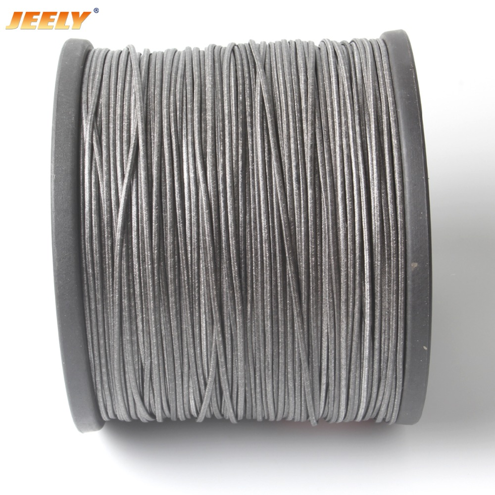 Free Shipping 1.7mm 50M UHMWPE Fiber Core with UHMWPE Jacket Towing Rope Spearfishing Speargun